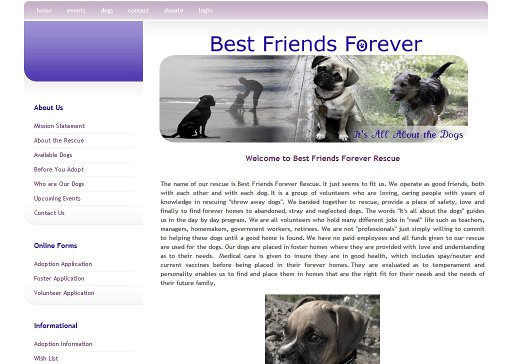 Best Friends Forever Rescue